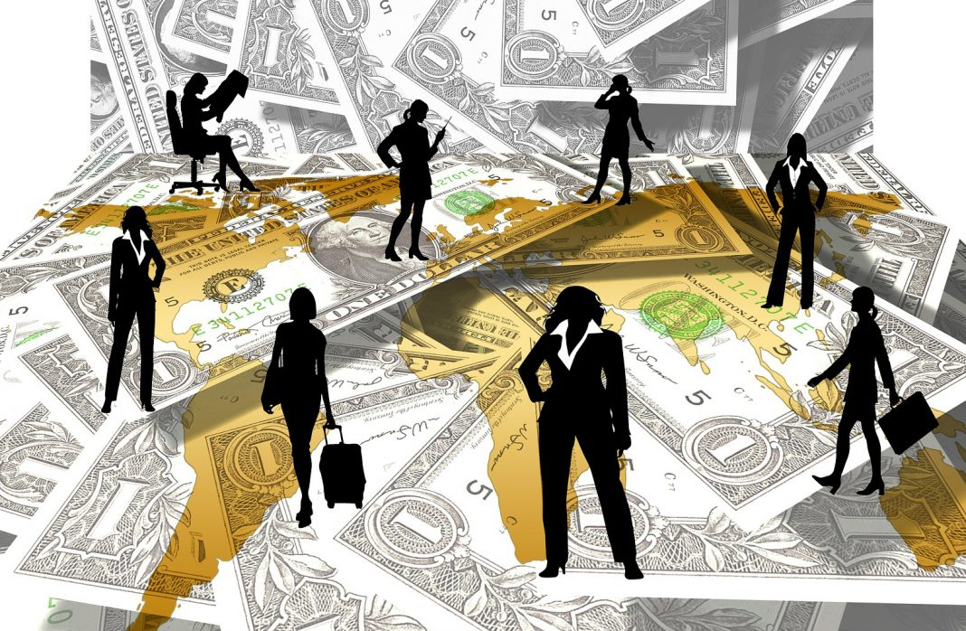 women executives and money