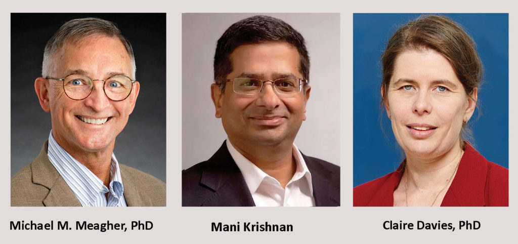 Michael M. Meagher, PhD, Mani Krishnan, and Claire Davies, PhD